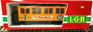 LGB 3060 B 750 JAHRE BERLIN 1237-1987 ANNIVERSARY PASSENGER NEW IN ORIGINAL BOX