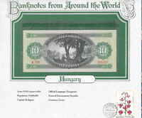 World Banknotes Hungary 10 Forint 1969 UNC P 168d  A388  Serial 081222
