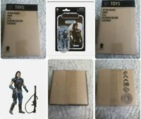 ✅EIGHT Star Wars Cara Dune Vintage 3.75 Collection SEAL CASE Trusted WORLDWIDE