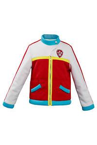 Captain Ryder Cosplay Costume Kids Jacket Coat Halloween Children Outfit Gift