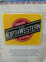 Chicago & North Western Railway Railroad Union Pacific Train Jacket Hat Patch