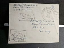 Apo 514 Mansfield, England 1944 Censored Wwii Army Cover 342 Ord Depot Co
