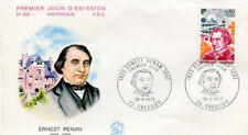 FRANCE FDC - 842 1745 1 ERNEST RENAN 28 4 1973 - LUXE