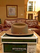 """STETSON """"OPEN ROAD"""" 6X BROWN MIX 7 3/4 GREAT WESTERN LOOK!"""