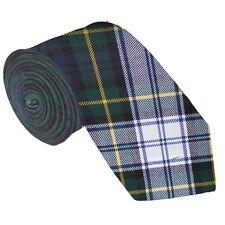 Mens 100% Lambswool Tartan Tie - Gordon Dress Modern
