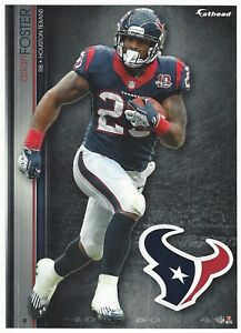 ARIAN FOSTER FATHEAD TRADEABLES TENNESSEE VOLS HOUSTON TEXANS STICKER 2013 #9