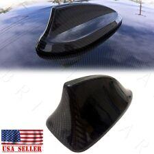 For BMW F30 3-Series Gloss Real Carbon Fiber Rool Antenna Cover Cap CF Shark Fin