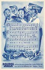 Reklame-Karte Polipol Skilack 193/54      26/12/14