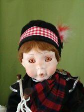"Danbury Mint 18"" Ian doll by Karen Scott"