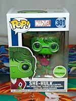 Marvel She-Hulk Lawyer Spring Con Exclusive #301 Pop Vinyl Bobble-Head Funko Aus