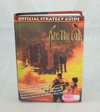 Arc the Lad Official Strategy Guide Working Designs Hard Cover Guide Book