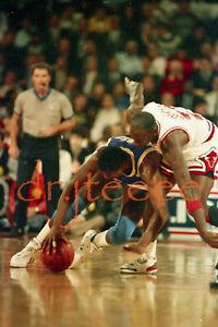 Michael Jordan vs Magic Johnson - 35mm Basketball Slide/Negative