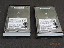 Hitachi Data Systems Hard Drive SATA 500GB 7500RPM 0A34357 (Lot of 2) #1131
