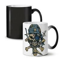 Pirate Skeleton NEW Colour Changing Tea Coffee Mug 11 oz | Wellcoda