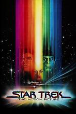 """Star Trek I: The Motion Picture Silk Fabric Poster New 24""""x36"""" 001*"""