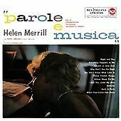 Helen Merrill - Parole e Musica (2010) cd