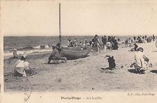 PARIS-PLAGE sur le sable écrite 1904