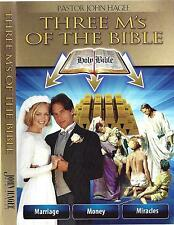 Three M's Of The Bible - 3 Dvds - John Hagee - Sale Rare ! Lowest Price Ever !