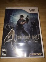 Resident Evil 4 -- Wii Edition (Nintendo Wii, 2007) NEW- SEALED
