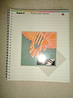 Vintage 1983 Apple II ProDOS User's Manual Computer Programming DOS File Menu
