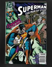 Superman Man of Steel #2 DC Comics 1991 NM