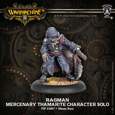 Warmachine: Mercenaries - Ragman - Thamarite Character Solo PIP41087 NEW