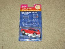 Siku Eurobuilt Fire Bridge Wagon Range Rover Red 1:55 MOC