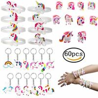 BigLion Unicorn Gifts Party Bag Fillers Rubber Unicorn Wristbands Bracelets Unic