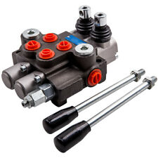 11 Gpm Hydraulic Directional Control Valve Tractor Loader Joystick 2 Spool
