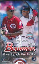 2018 Bowman Baseball Hobby Box - Factory Sealed!