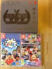 Nintendo Switch Games (mario Kart 8 Deluxe) And ( Race With Ryan) Wheels