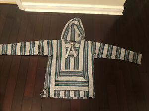 Rug Hoodie Pullover Miguel Geraldo Made In Mexico