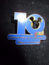 DISNEY VACATION CLUB 10 YRS PIN CELEBRATING MEMORIES, DREAMS and YOU CAST ONLY