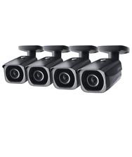 Lorex 8MP 4K IP Bullet Security Camera LNB8921BW, 250ft IR Night Vision 4-Pack