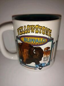 Yellowstone National Park Coffee Tea Mug Cup Buffalo Country Nature West - 8 oz