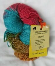 "Hand Painted Schaefer ""Helene"" luxury yarn. Color: Hermione 3.5 oz. Wool & silk"