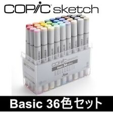 Too Copic sketch basic 36-color set 12502074 from Japan