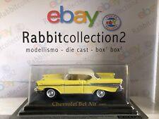 "DIE CAST "" CHEVROLET BEL AIR (1957) "" SCALA 1/43 AUTO AMERICANE"