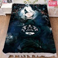 Anime Azur Lane Yūdachi Cartoon Bed Sheets Blanket Bedding Otaku Gift 1.5*2m#03