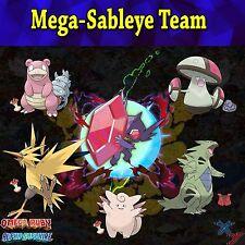 Pokemon Sun and Moon Mega-Sableye Team