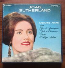 JOAN SUTHERLAND OPERATIC ARIAS - 4 Track Stereo Reel To Reel Tape