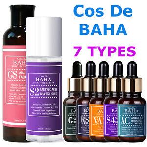 7 Acne Facial Serum Face Toner Vitamin C Retinol AHA Glycolic Acid BHA Salicylic