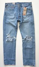 Levi's Levis 501 Nwt Straight Leg Distressed Righty Lefty Light 005012769 Jeans