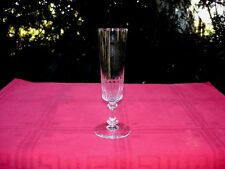 BACCARAT RICHELIEU CHAMPIGNY TALL FLUTED GLASS FLUTE CHAMPAGNE CRISTAL TAILLÉ B
