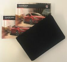 VAUXHALL ASTRA OWNERS PACK / HANDBOOK COMPLETE WITH WALLET 2012-2016 (2015)