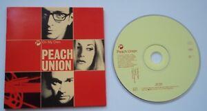 "PEACH UNION - ON MY OWN - Single, Radio Edit, Higher Ground (4:26)  CD 5"" Single"