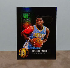 KENNETH FARIED Nuggets 2013-14 Gold Standard GOLD PROSPECTS BLACK NrMt-Mt #1/1