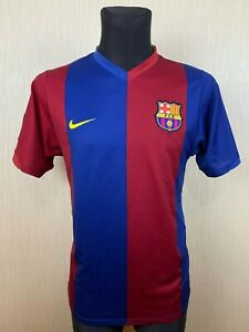 BARCELONA 2006/2007 HOME FOOTBALL SOCCER CAMISETA JERSEY ADULT NIKE SIZE M