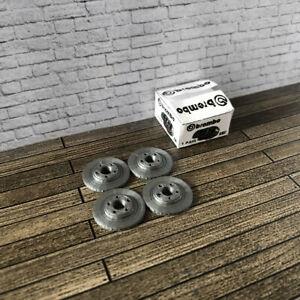 4 x Brake Rotors / Discs for Diorama Garage / Workshop 1:18 scale Car Model