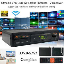 Satellite TV Receiver Decoder Gtmedia V7S Full HD 1080P WIFI DVB-S/S2 Powervu